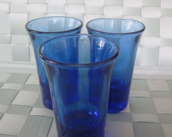 BLUE SHOT GLASS Set