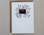 Love Vines Valentine's Day Card - Tiny Envelopes Card