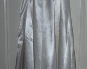 Vintage Lingerie 1940s Bridal Half Slip Lace Trimmed
