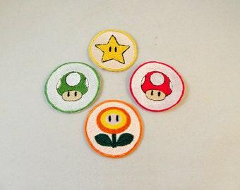 2 inch Super Mario Bros Item patch