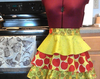 Apples and Pears Apron (Half)