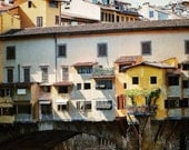 Fine Art photography, Ponte Vecchio, Florence, Firenze, Italy, bright, colour, 8x12, 8x10 available