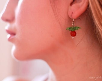 Luna's Radish Earrings