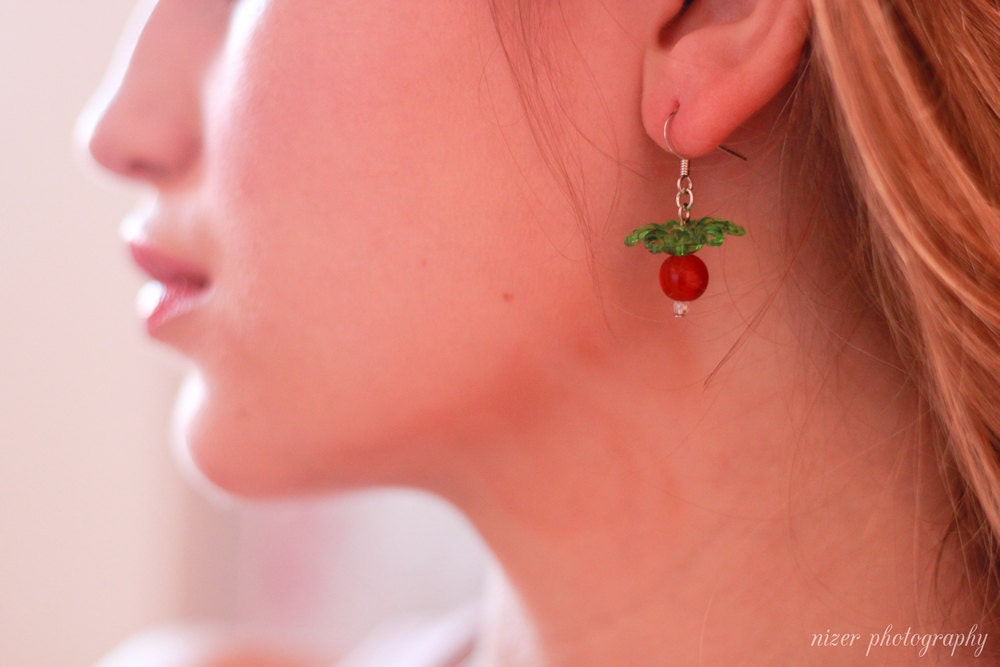 radish earrings s radish earrings by cissypixie on etsy 7762