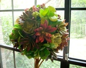 18 IN. Topiary of Artificial Succulents