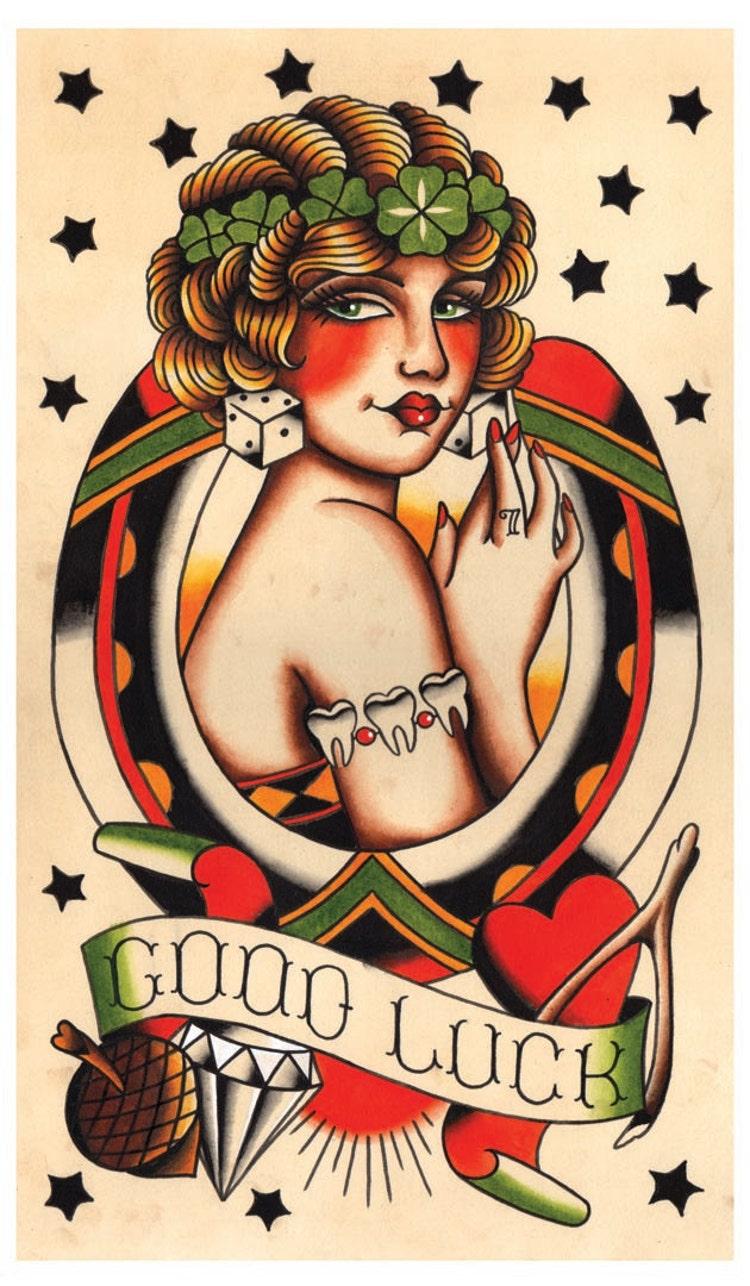 Открытки с татуировками 59