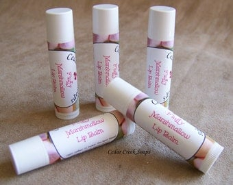 LIP BALM ~ Marshmallow Lip Balm  ~ Natural Lip Balms