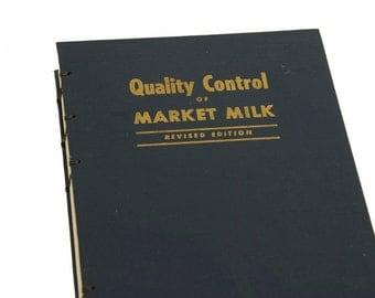 1960 MILK Vintage Notebook Journal