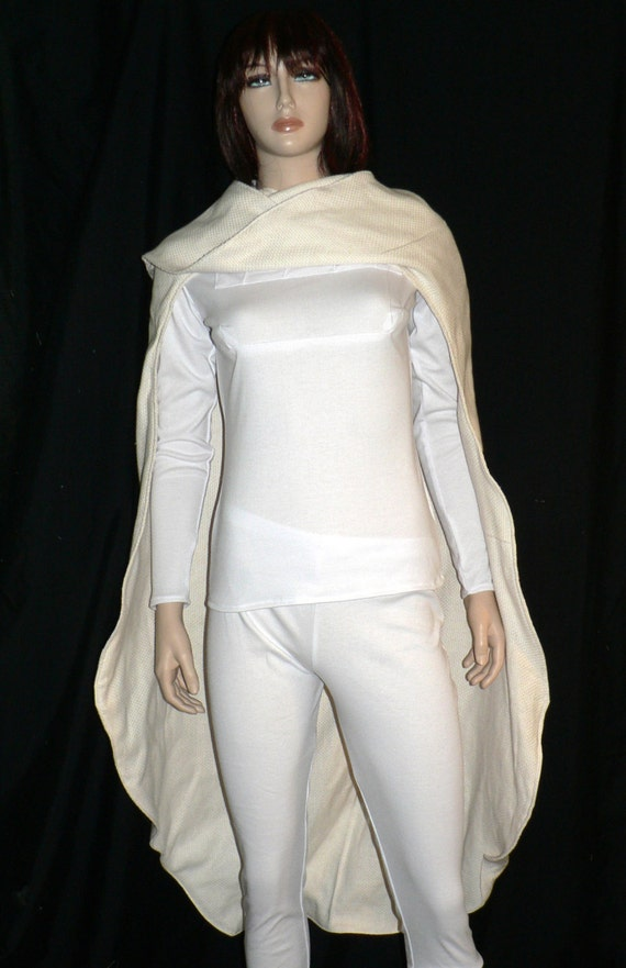 Padme, White Battle Outfit, Star Wars, Cosplay, Custom Made to Order