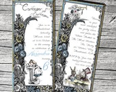 Alice in Wonderland Invitations and Thank You Cards (sold separately)