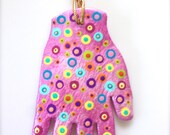 Colorful Hand Ornament
