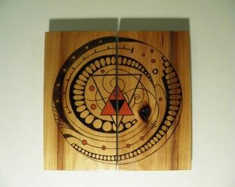 The Talisman of Revolution - Wood Panel Art