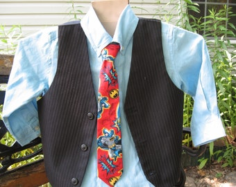 Batman boys necktie