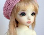 "Custom BJD Slouch Hat  for 6/7"" head MSD YoSD - you choose colour"