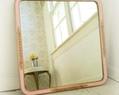 P A R I S  Apartment Chic Pink and Gold Mirror French Nursery Vanity