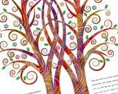 Ketubah - Double Tree Emb...