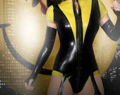 The Watchmen Silk Spectre II Inspired Catsuit and Gauntlets