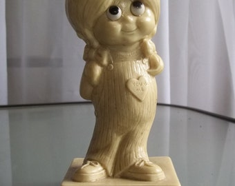 """W & R Berries """"Our Love is all There is"""" Figurine, Vintage Home Decor, Sentimental Figurine"""