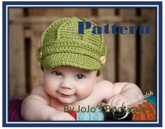 46cc426f307 ... wholesale newsboy hat pattern with bonus sizes baby newsboy hat newborn  to 12 month sizes crochet ...