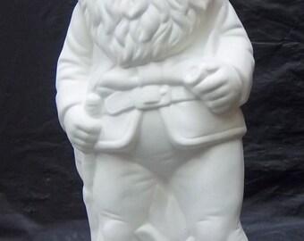 U paint  ceramic Garden Gnome.