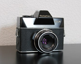 Vintage Rolleiflex SL26 35mm Camera with Carl Zeiss Lens