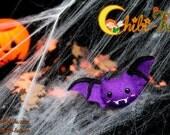 Brooch bat  Halloween