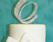Wedding Cake Toppers - Brush Metal - Swarovski Crystals