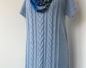 60% OFF SALE - Knit Sweater Dress Tunic Jumper