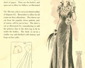 1940s Dunrich School of Patternmaking - Sewing Pattern Drafting Booklet PDF