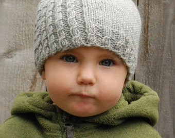 Knitting PATTERN-The Mayra Hat (Toddler, Child, Adult sizes)