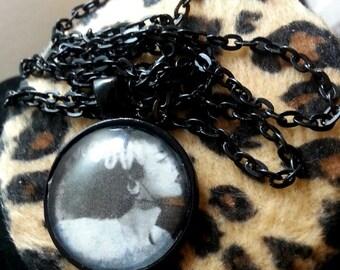 Bride of Frankenstien Necklace - horror