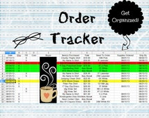 Organization Tool - Online Store, Order Tracker, Business Tool, Sales Record, Business Organization, Printable Form, Business Printable, B2B