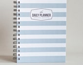 The Daily Planner - Grey Stripes (60 days planner)