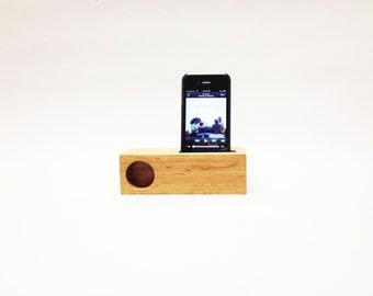 iPhone Mini Acoustic Speaker(QS White Oak)