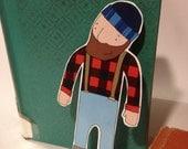 Lumberjack Bookmark