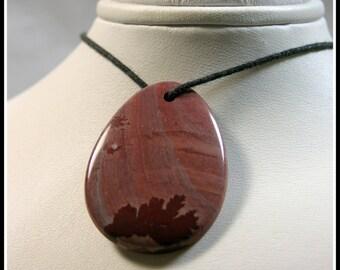 Apache Sage/Mimbres Valley Rhyolite Focal Bead