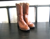 Vintage Ladies Small Mid-Calf Justin Roper boots size 5.5 Narrow