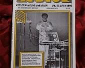 RESERVED Audion No 22 1992 Sound Noise Electronica Audio Art Ozric Sculpture Glass Harmonium Russolo Partch Tinguely