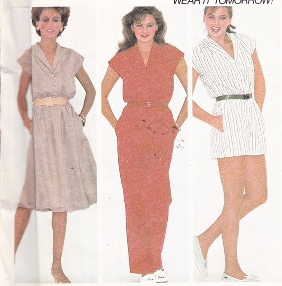 Amazing Items Similar To Jumpsuit Sewing Pattern Women39s Medium Simplicity