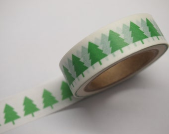 Christmas Tree Washi Tape (10M)