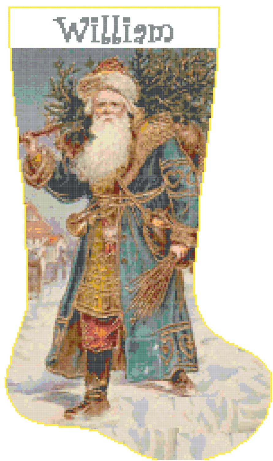 Cross Stitch Christmas Stocking Patterns