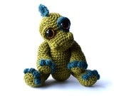 Dinosaur Amigurumi Crochet Pattern PDF Instant Download - Ivor