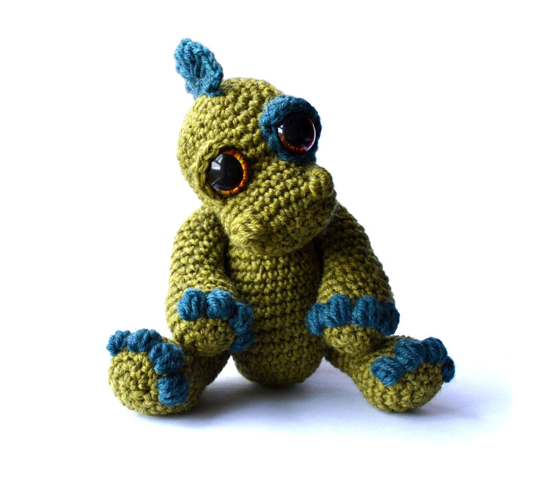 Amigurumi Dinosaurio Patron : Dinosaur Amigurumi Crochet Pattern PDF Instant Download Ivor