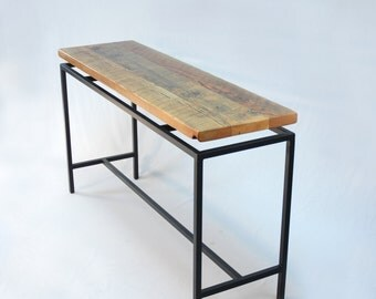 Blakeley Floating Top Industrial Console/Hall Table