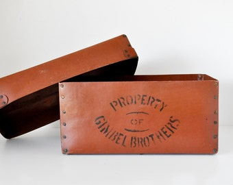 Rare Gimbel Brothers Store Box