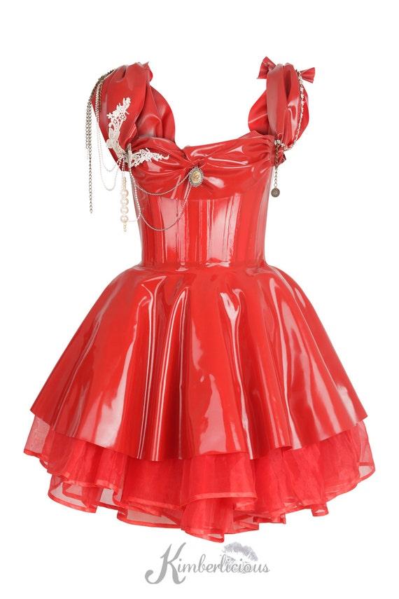 Empress Latex Corset Dress By Zorenkolondon On Etsy