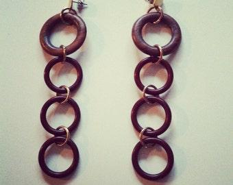Running in Cirlces Earrings