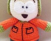 PATTERN : Kyle  Crochet Doll