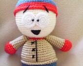 PATTERN : Stan Crochet Doll