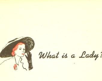 1960s Complete Etiquette for Ladies and Gentlemen